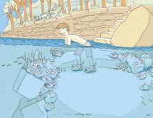 Gardening underwater