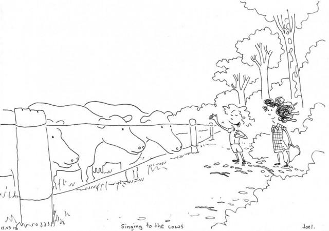 Singing_to_the_cows_Joel_Tarling