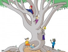 Climbing tree for kids