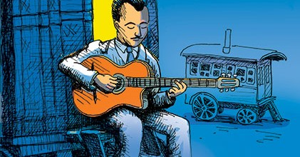 Django Reinhardt – illustrating history