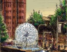 The El Alamein Memorial Fountain, Kings Cross
