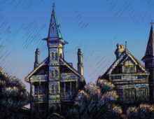 Annandale Sketches: Witches Houses